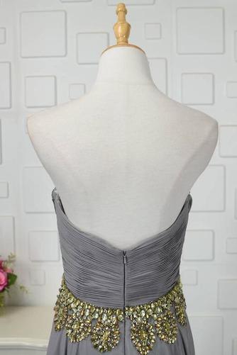 Robe de bal Fermeture à glissière Asymétrique Printemps Mousseline - Page 5