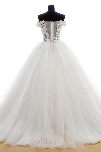 Robe de mariée Tulle Formelle Hiver Naturel taille Longue Princesse - Page 2