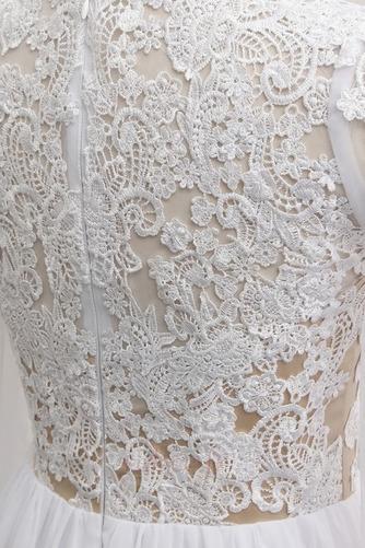 Robe de mariée A-ligne Longueur de plancher Manche Longue Plage - Page 5