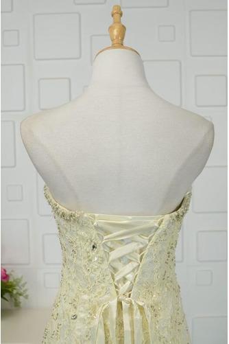 Robe de bal Moderne Sans Manches Naturel taille Ruchés Plongeants - Page 5