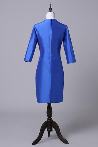 Robe mères Bleu Fer à cheval Fleurs Maigre Formelle Taffetas - Page 2