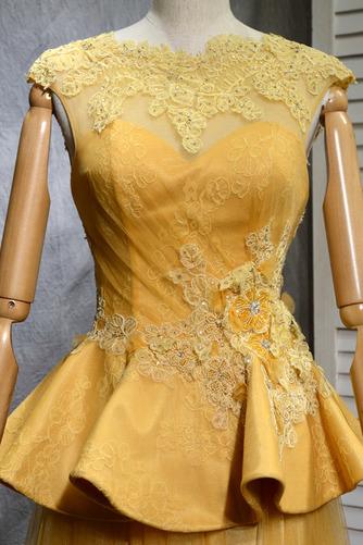 Robe de bal Vintage Tulle A-ligne Train de balayage Manquant - Page 4