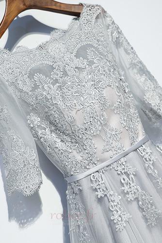 Robe de demoiselle d'honneur Manche Aérienne Festin Vintage Gaze - Page 3