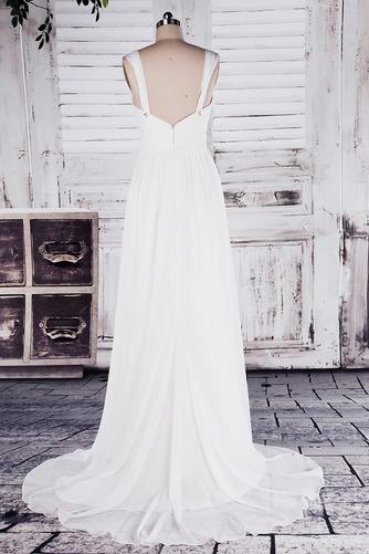 Robe de mariée Col en Cœur Sage Sans Manches Printemps noble - Page 3