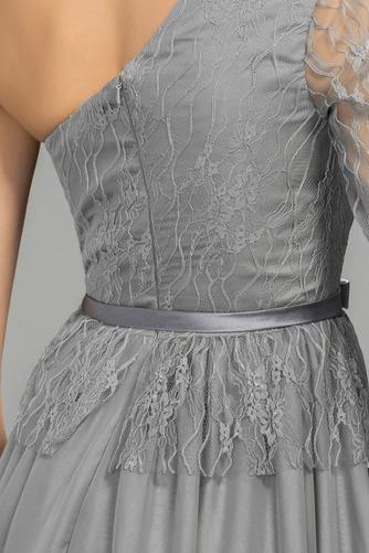 Robe de soirée Naturel taille Luxueux Une épaule Longueur de plancher - Page 5