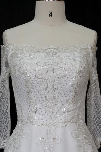 Robe de mariée Manche Longue Perler Formelle Naturel taille A-ligne - Page 3