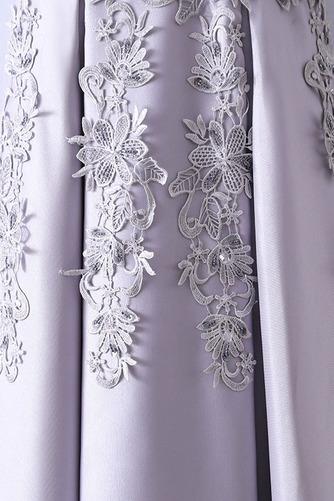 Robe de demoiselle d'honneur Luxueux Festin Sans Manches Dos nu - Page 4