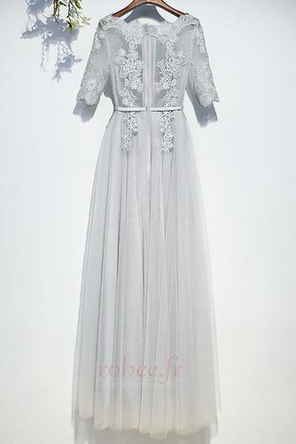 Robe de demoiselle d'honneur Manche Aérienne Festin Vintage Gaze - Page 2