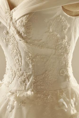Robe de mariée Dentelle Col en V Norme Mancheron Formelle Manche Courte - Page 5