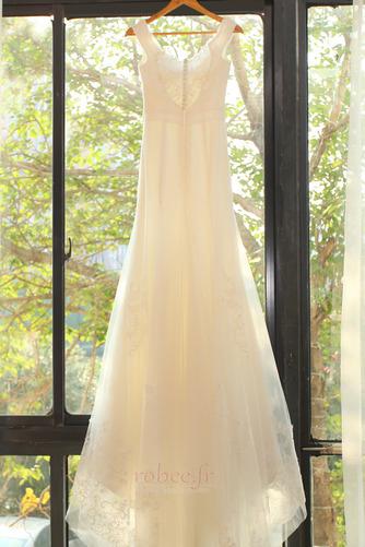 Robe de mariée Manquant Mancheron Elégant De plein air net Naturel taille - Page 8