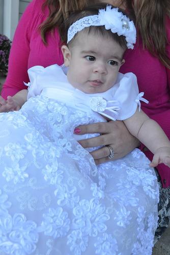 Robe de fille de fleur Princesse Satin élancé Bébé Fleurs Petit collier circulaire - Page 2
