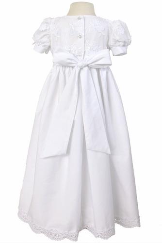 Robe de fille de fleur Princesse Haute Couvert Cérémonial Manche Courte - Page 2