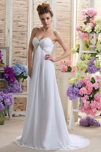 Robe de mariée Mousseline taille haute Médium Longueur de plancher - Page 2