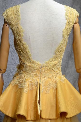 Robe de bal Vintage Tulle A-ligne Train de balayage Manquant - Page 5