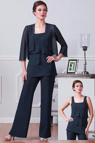 Robe mères Un Costume Chiffon Été Haute Couvert Gradins Elégant - Page 1