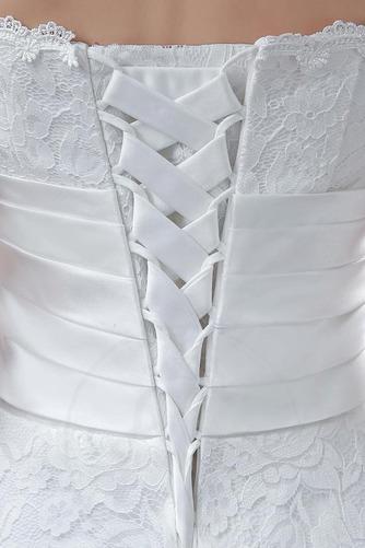 Robe de mariée Sans courroies Naturel taille Orné de Rosette - Page 3