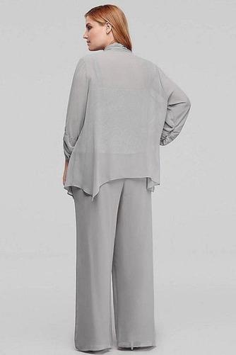Robe mères Un Costume Drapé Haute Couvert 3/4 Manche Couvert de Dentelle - Page 5