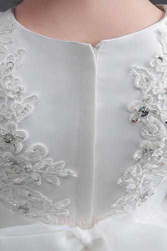 Robe de fille de fleur Manche Longue a ligne Fermeture à glissière - Page 5