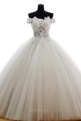 Robe de mariée Tulle Formelle Hiver Naturel taille Longue Princesse - Page 1