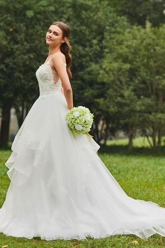Robe de mariée De plein air Éternel Printemps Tulle Bretelles Spaghetti - Page 3