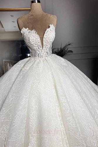 Robe de mariée Sans courroies Sans Manches Glissière Luxueux - Page 2