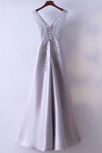 Robe de demoiselle d'honneur Luxueux Festin Sans Manches Dos nu - Page 2