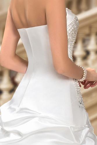 Robe de mariée Hiver Scintillait Princesse Asymétrique Satin - Page 7