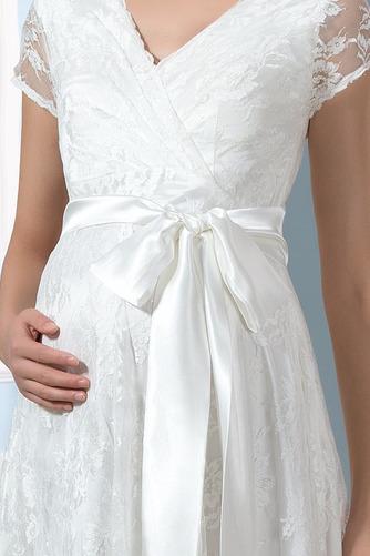 Robe de mariée Dentelle Luxueux Longueur de genou Taille haute - Page 4