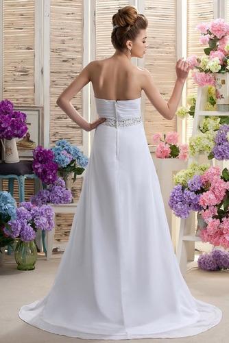 Robe de mariée Mousseline taille haute Médium Longueur de plancher - Page 3