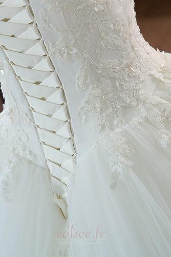 Robe de mariée Mancheron Formelle Eglise Perles net a ligne - Page 4