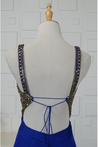 Robe de bal Triangle Inversé Larges Bretelles Fourreau plissé - Page 5