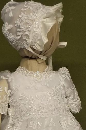 Robe de fille de fleur Cérémonie Bébé Dentelle Manche Courte - Page 3