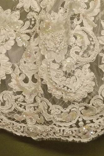 Robe de fille de fleur Manche Aérienne Naturel taille Princesse - Page 4