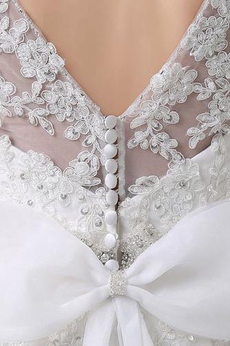 Robe de mariée Salle des fêtes Poire Décolleté Dans le Dos Longue - Page 4