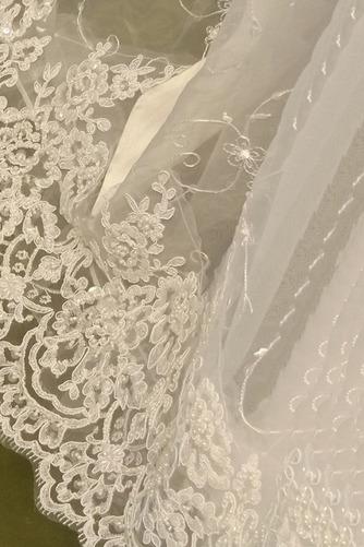 Robe de fille de fleur Princesse Dentelle Cérémonie Ceinture en Étoffe - Page 4