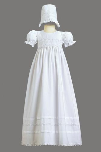 Robe de fille de fleur Cérémonie Naturel taille Exquisite Fermeture à glissière - Page 1