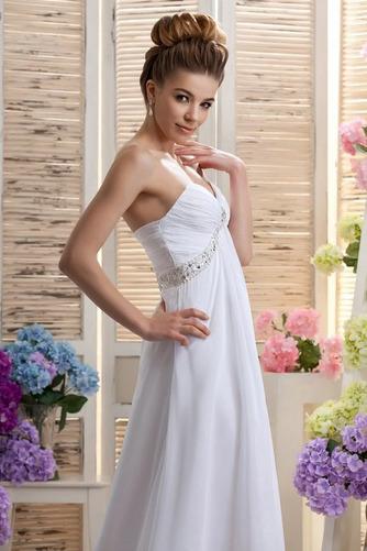 Robe de mariée Mousseline taille haute Médium Longueur de plancher - Page 4