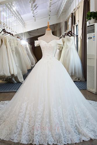 Robe de mariée Mancheron Formelle Eglise Perles net a ligne - Page 1