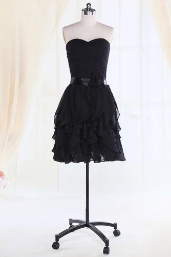 Robe de demoiselle d'honneur Fourreau plissé Taille chute Sablier - Page 1