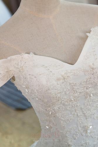 Robe de mariée Mancheron Formelle Eglise Perles net a ligne - Page 3