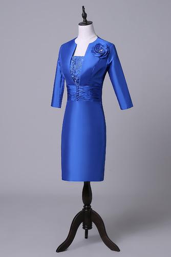 Robe mères Bleu Fer à cheval Fleurs Maigre Formelle Taffetas - Page 3