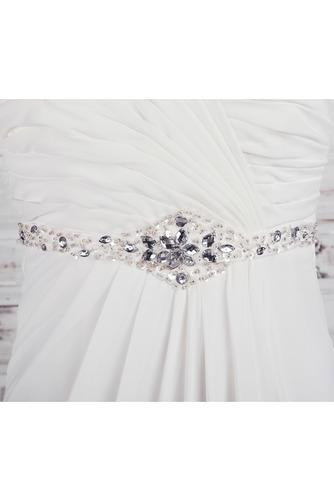 Robe de mariée Empire Longue Laçage De plein air Sans bretelles - Page 4