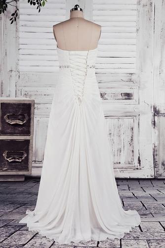 Robe de mariée Empire Longue Laçage De plein air Sans bretelles - Page 3