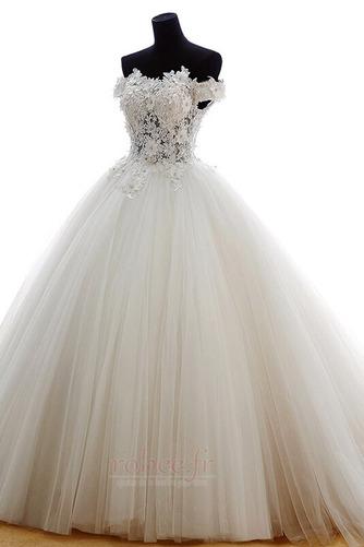 Robe de mariée Tulle Formelle Hiver Naturel taille Longue Princesse - Page 3