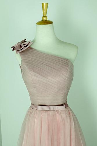 Robe de demoiselle d'honneur Rose Sans Manches Mariage Chic Nœud à Boucles - Page 3