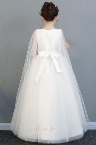 Robe de fille de fleur Longueur Cheville net Fermeture à glissière - Page 5