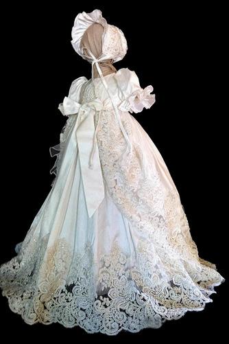 Robe de fille de fleur Princesse Manche Courte Printemps Longue - Page 1