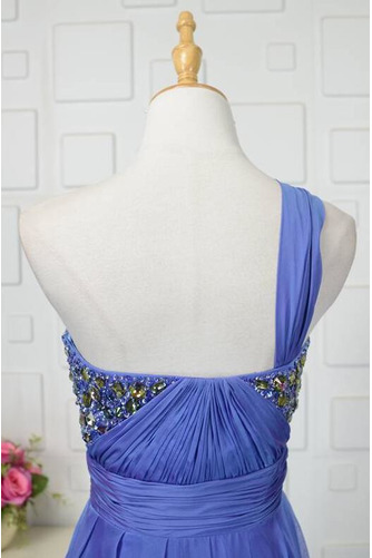 Robe de bal Vintage A-ligne Sans Manches Mousseline À la masse - Page 5
