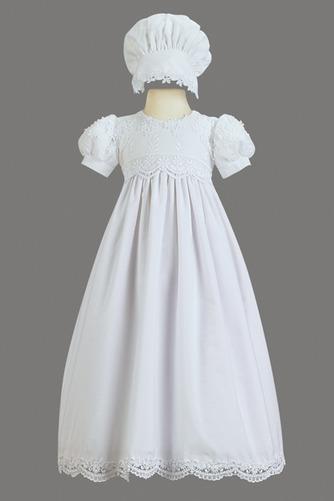 Robe de fille de fleur Princesse Haute Couvert Cérémonial Manche Courte - Page 1