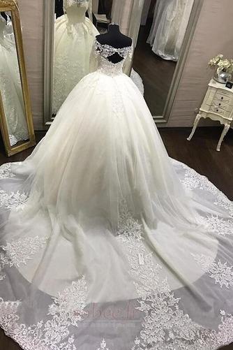 Robe de mariée Dentelle aligne Manche Aérienne Eglise Médium - Page 3